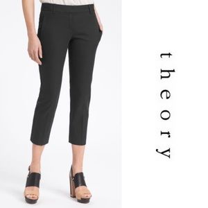 Theory Yanette - C. Bistretch Cropped Pants 634